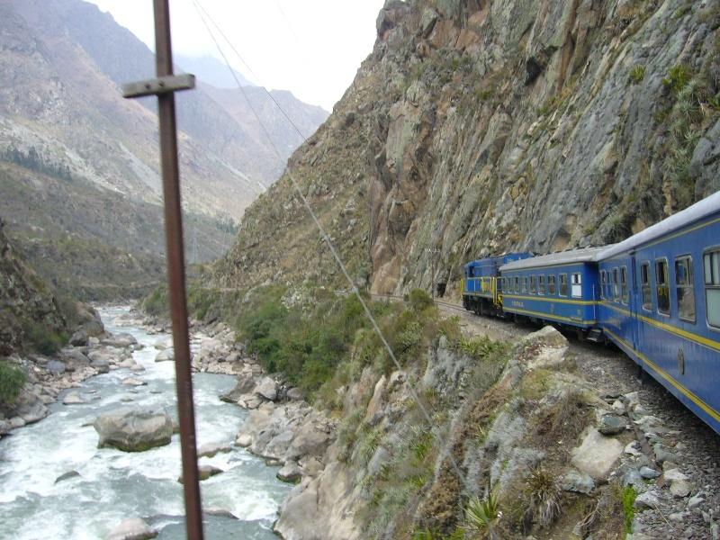 Schmalspurbahn zum Machu Picchu