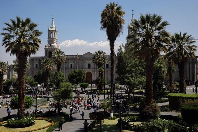 Arequipa Hauptplatz