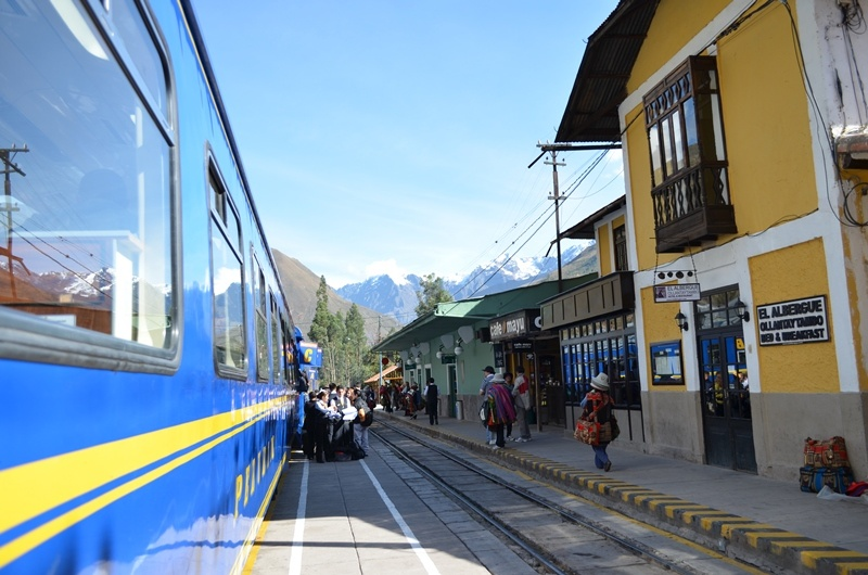 Bahnhof Ollantaytambo