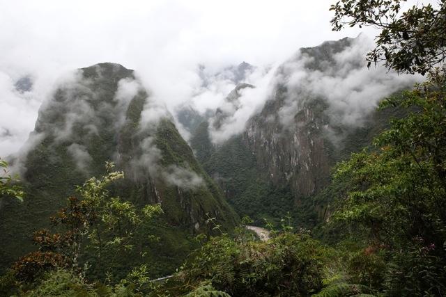 Blick von Machu Picchu aus