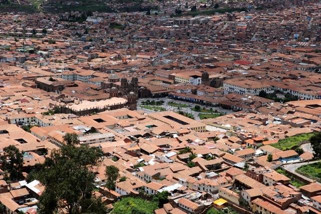 Cusco Altstadt
