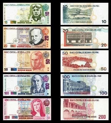 Peruanische Banknoten