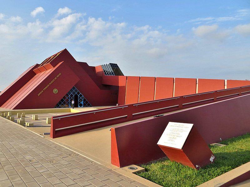 Sican Museum von aussen