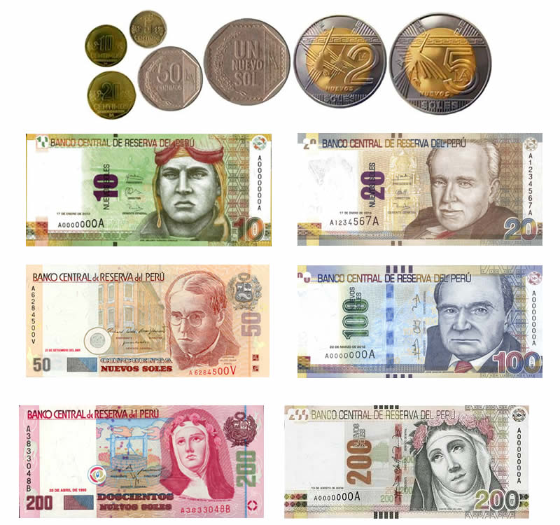Währung von peru